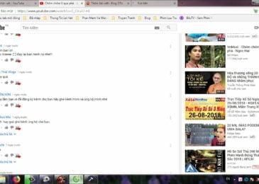 Đăng ký và trả lễ tương tác chéo nhau trên Youtube bằng Laptop(hoặc PC) là tối ưu nhất.