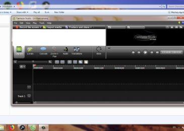 Quay màn hình PC/Laptop bằng Camtasia Studio 8.1.2