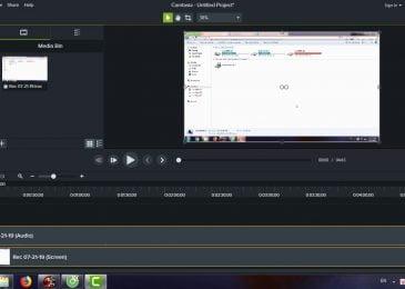 Quay màn hình PC/Laptop bằng Camtasia Studio 9.1.2