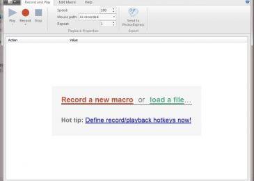 Hướng dẫn tạo và chạy một kịch bản được ghi lại bằng Macro Recorder 1.0.51.0