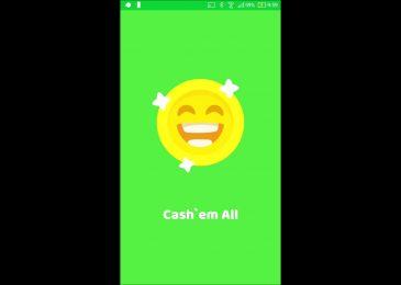 Kiếm tiền online trên smartphone từ ứng dụng Cash'em All